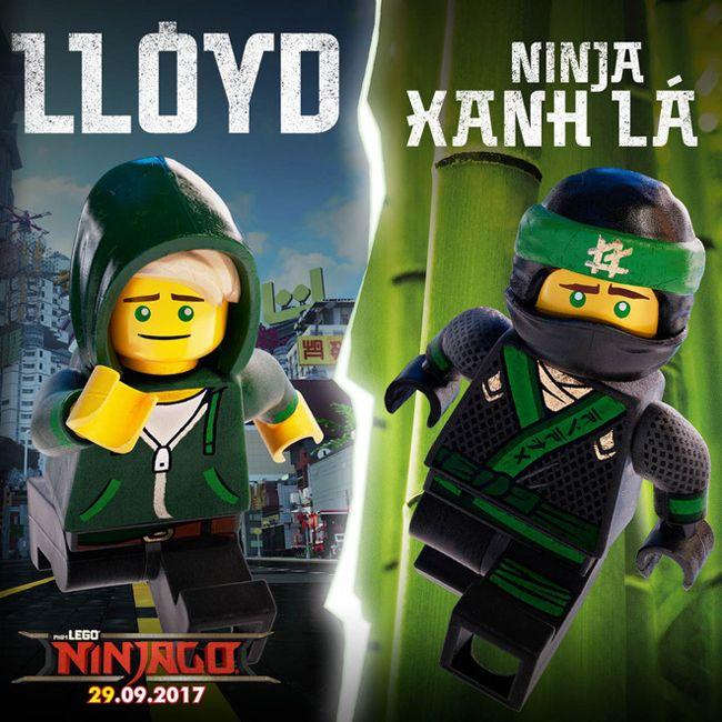 Chàng ninja xanh lá Lloyd