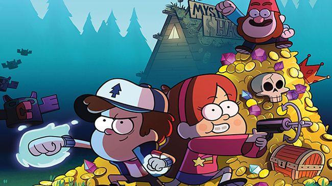 Gravity Falls bị cấm chiếu vì chứa nhiều yếu tố bạo lực