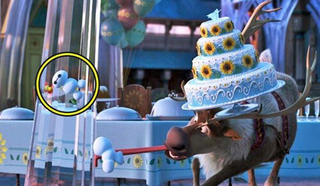 Baymax xuất hiện trong bom tấn Frozen