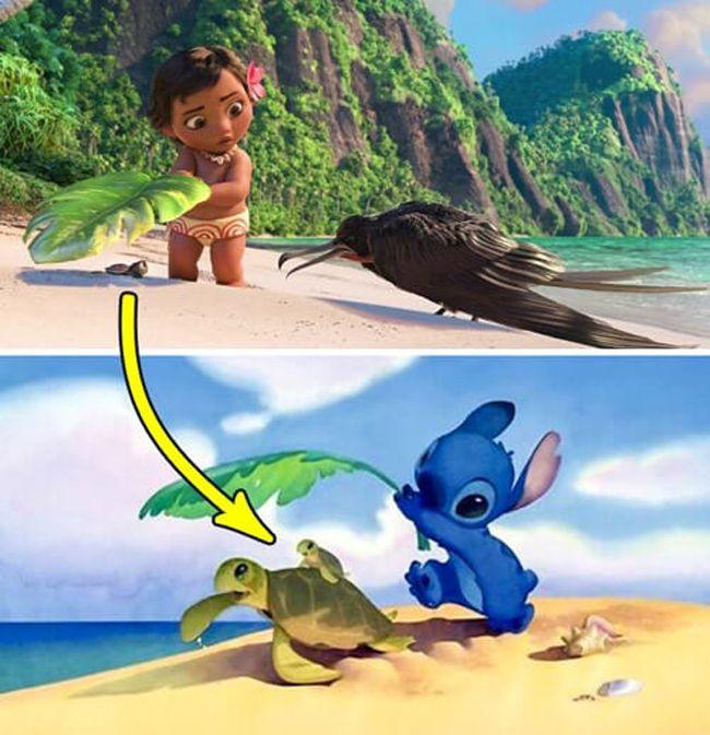 Hình ảnh xuất hiện trong phim Moana