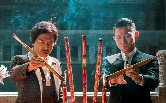 Trùm hương cảng quy tụ hai diễn viên nổi tiếng của Trung Quốc