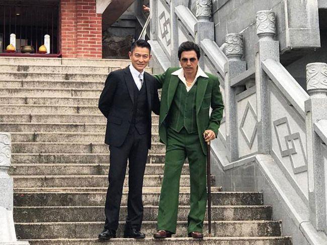 Lần đầu tiên hai diễn viên hợp tác trong một bộ phim