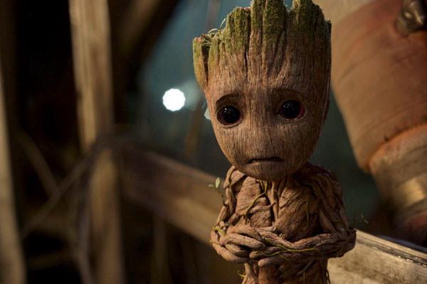 Baby Groot có đôi mắt to tròn siêu cấp đáng yêu