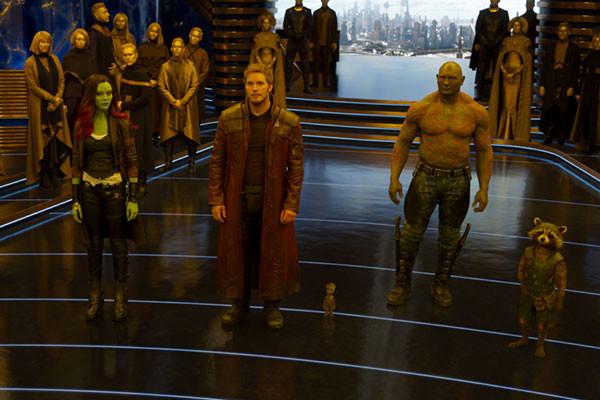 Star Lord là con trai của kẻ thù Ego