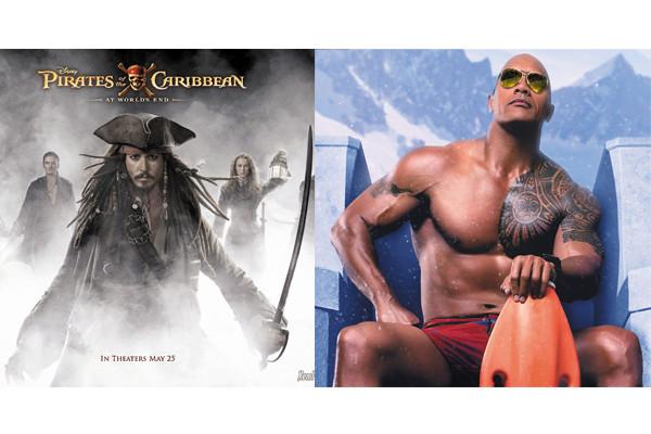 Johnny Depp hay The Rock sẽ đại thắng phòng vé