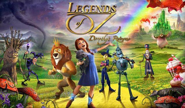 Phù thủy xứ Oz: Dorothy trở lại
