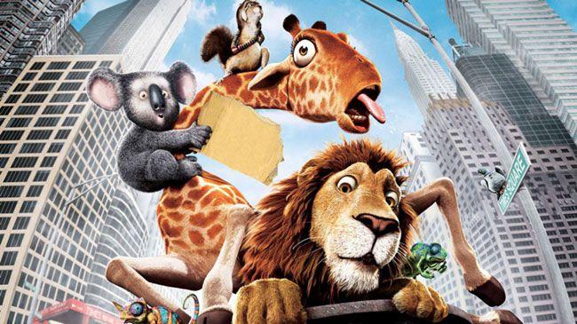 The Wild là tác phẩm ăn theo Madagascar