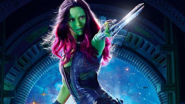 Zoe Saldana – Vệ binh dải ngân hà 2