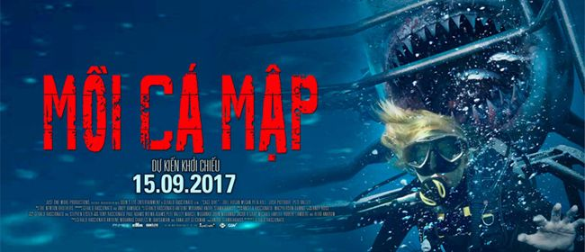 Mồi cá mập đang được công chiếu trên toàn quốc