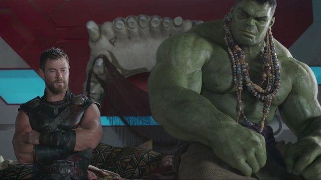 Mối quan hệ giữa Thor và Hulk sẽ được khai thác triệt để trong phần phim mới của Thor