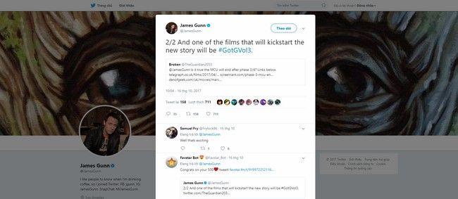 James Gunn tiếp tục cho biết MCU sẽ có sự lột xác hoàn toàn