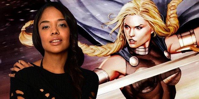 Tessa Thompson đã mạnh dạn trình bày ý tưởng về một bộ phim riêng của các nữ siêu anh hùng Marvel