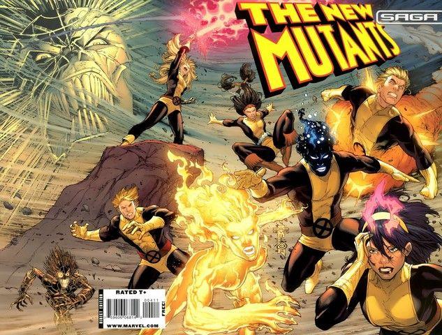 Trong truyện, các sự kiện của New Mutants xảy ra trong những năm 80 - 90