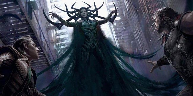 Hela là chị gái của Thor