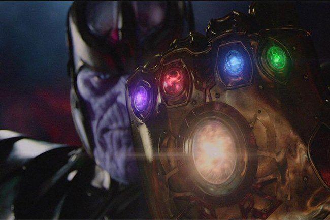 Siêu ác nhân Thanos cùng các viên đá vô cực