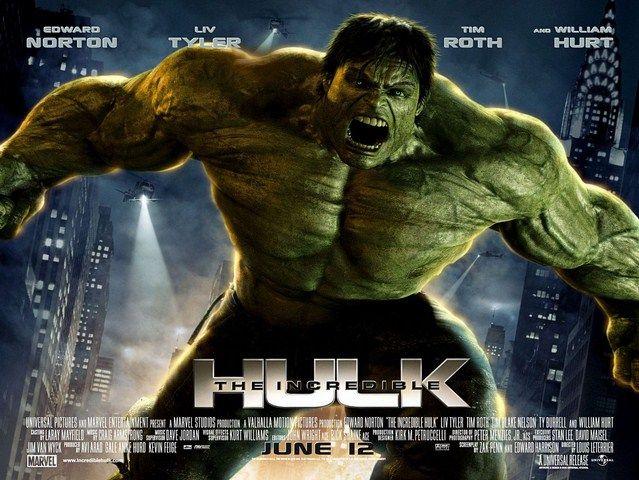 Incredible Hulk ra mắt năm 2008