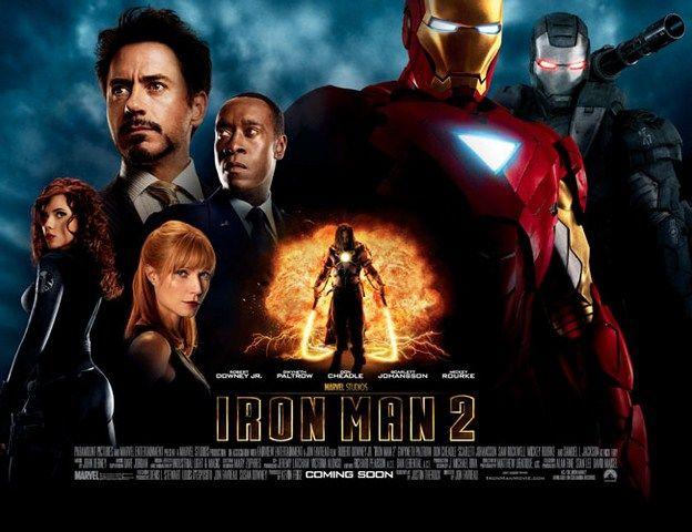 Iron Man 2 là cú trượt dài sau sự thành công của Iron Man