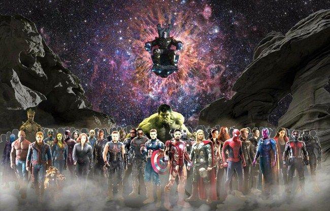 Infinity War sẽ là bộ phim có quy mô vô cùng lớn