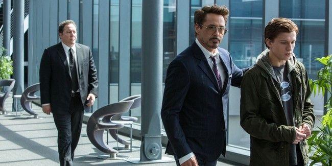 Tony đã chú ý đến Peter Parker từ lâu