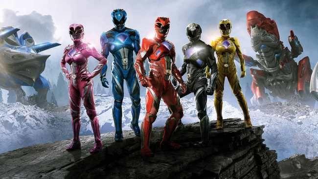 Power Rangers bộ phim gắn liền với tuổi thơ