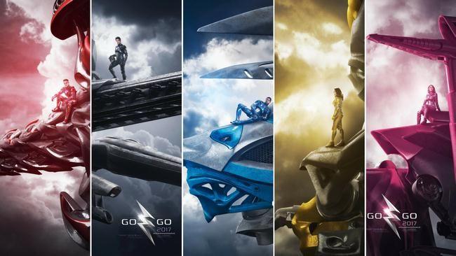 5 siêu nhân cùng Megazord