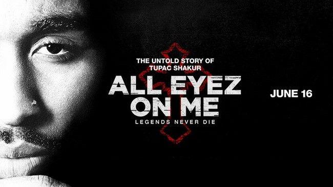 Bộ phim tiểu sử về rapper Tupac-All Eyez On Me