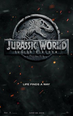 Poster chính thức của Jurassic World 2