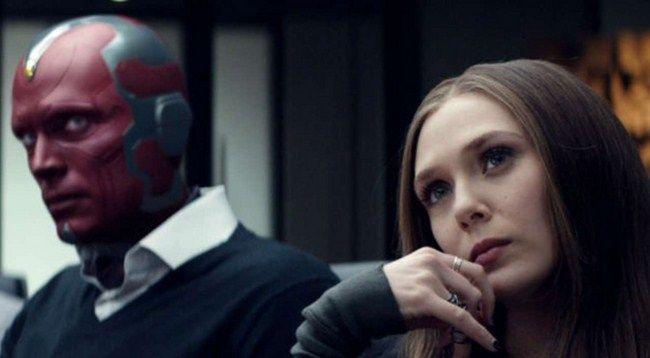 Mối quan hệ của Vision và Scarlet Witch đã nhen nhóm phát triển từ Civil War