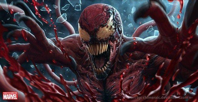 Carnage được tạo ra từ chính Venom