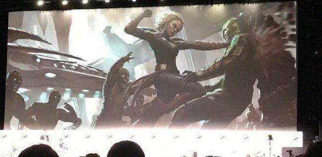 Concept art tạo hình của Skrull