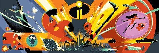 Hình ảnh mới nhất của The Incredibles 2