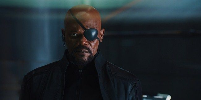 Samuel.L Jackson sẽ trở lại với vai diễn Nick Furry trong Captain Marvel