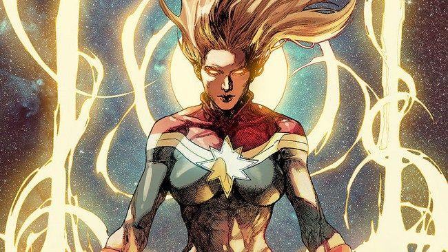 Captain Marvel là một trong những siêu anh hùng có sức mạnh khủng khiếp của Marvel