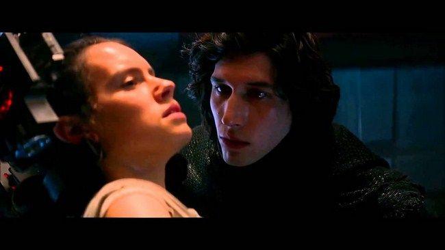 Rey và Kylo Ren từng chạm trán trong Star Wars 7