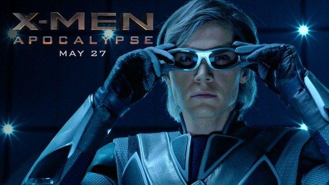 Trong X-Men: Apocalypse, Quick Silver xuất hiện trong hàng ngũ nhân vật chính