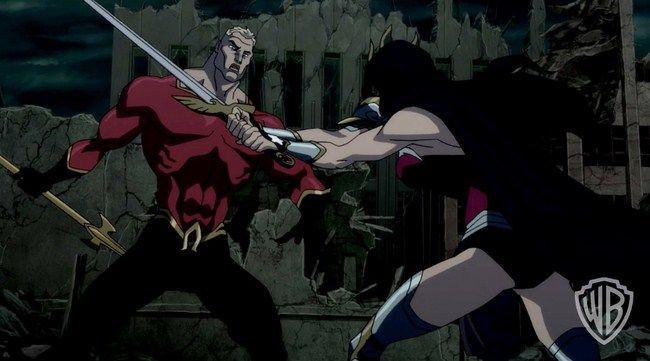 Trận chiến của Wonder Woman và Aquaman dẫn đến hậu quả là sự diệt vong của nhân loại