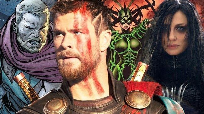 Thor sẽ đối đầ với Hella trong phần phim mới