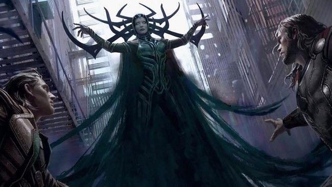 Hela là một trong những kẻ thù hùng mạnh nhất của Thor