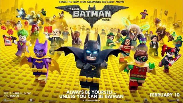 Lego Batman Movies mang màu sắc tươi sáng, vui nhộn