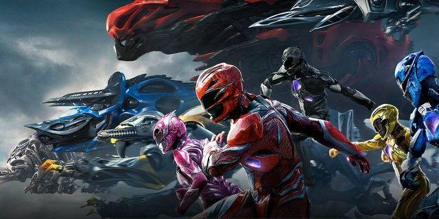 Vị trí thứ 5 thuộc về Power Rangers