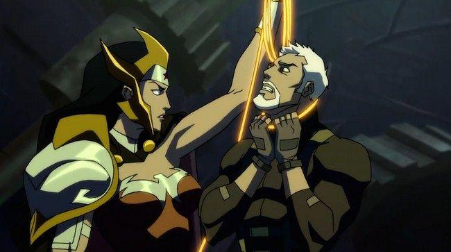 Wonder Woman trong Flashpoint là một Nữ Hoàng tàn bạo
