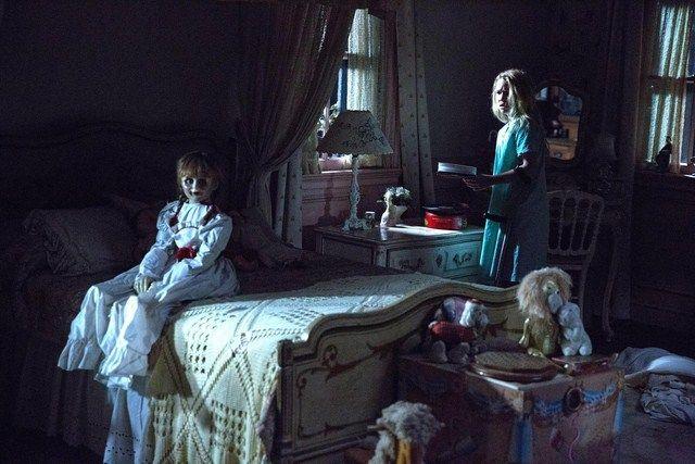 Khi lên phim tạo hình của Annabelle được thay đổi để gây cảm giác ám ảnh và đáng sợ hơn