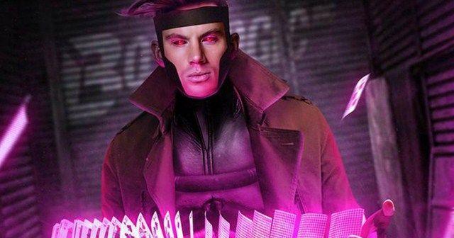 Tạo hình của Channing Tatum trong vai Gambit do fan thiết kế
