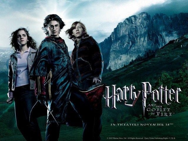 Bắt đầu từ Harry Potter và Chiếc Cốc Lửa diễn biến phim đã theo hướng đen tối hơn rất nhiều