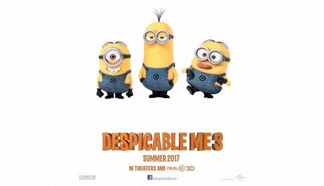 Với mức doanh thu này, Desppicable Me 3 trở thành phim hoạt hình có doanh thu cao nhất