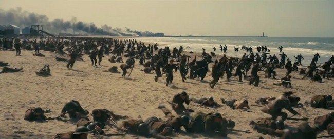 Với giới hạn độ tuổi PG-13 sự khốc liệt của chiến tranh sẽ được tái hiện một cách chân thực hơn trong Dunkirk