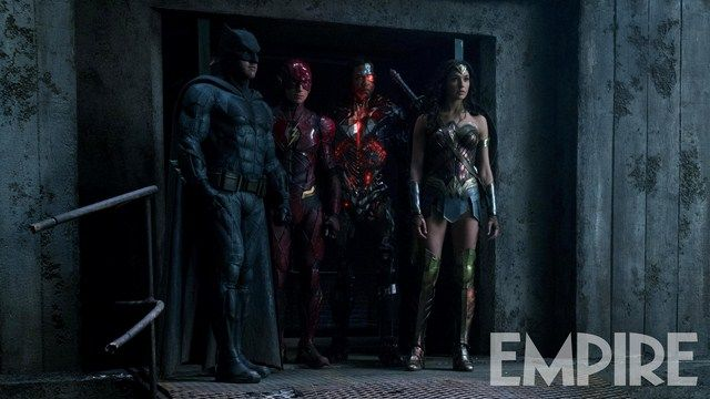 Batman sẽ cùng với Wonder Woman tập hợp Justice League