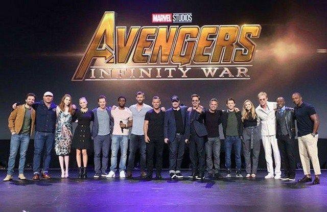 Dàn diễn viên của Avengers: Infinity War tại sự kiện San Diego Comic Con