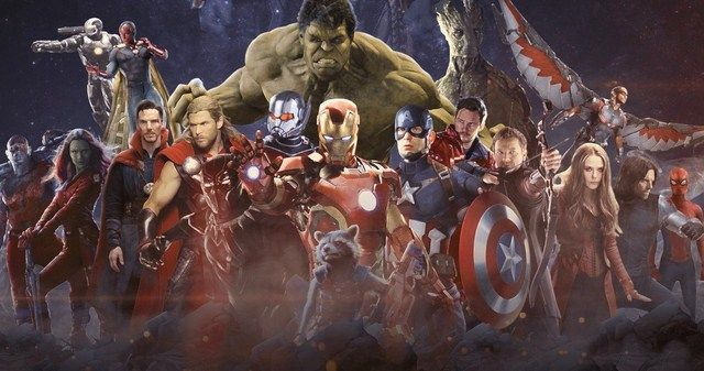 Avengers: Infinity War và Avengers 4 sẽ là 2 phim có dàn diễn viên chính đông đảo nhất từ trước tới nay