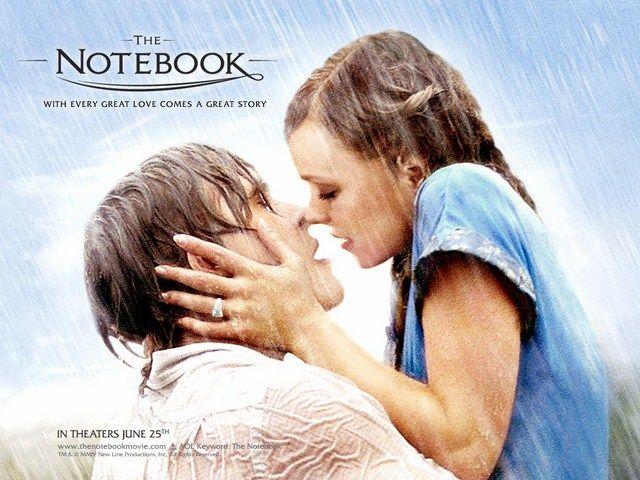 Điều tạo ra sức hút cho The Notebook chính là tình cảm thuần khiết, mãnh liệt, trước sau như một của Allie và Noah